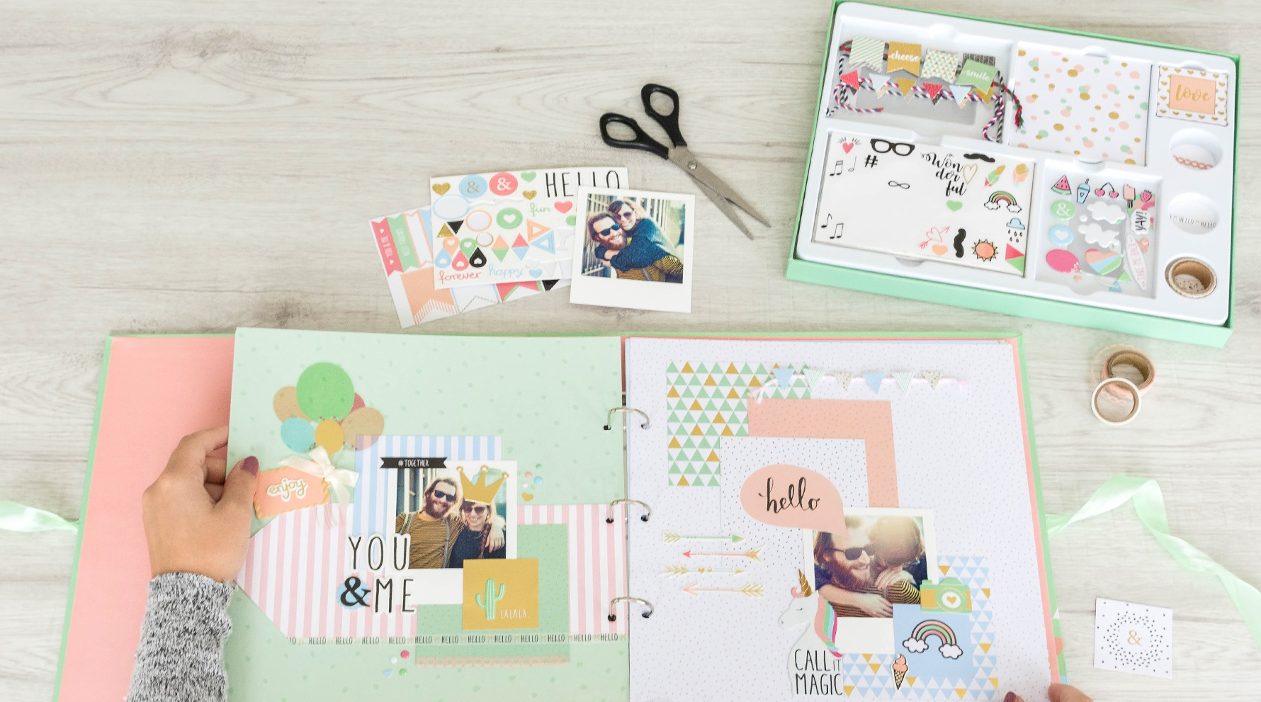 Le scrapbooking pour des photos d'exception