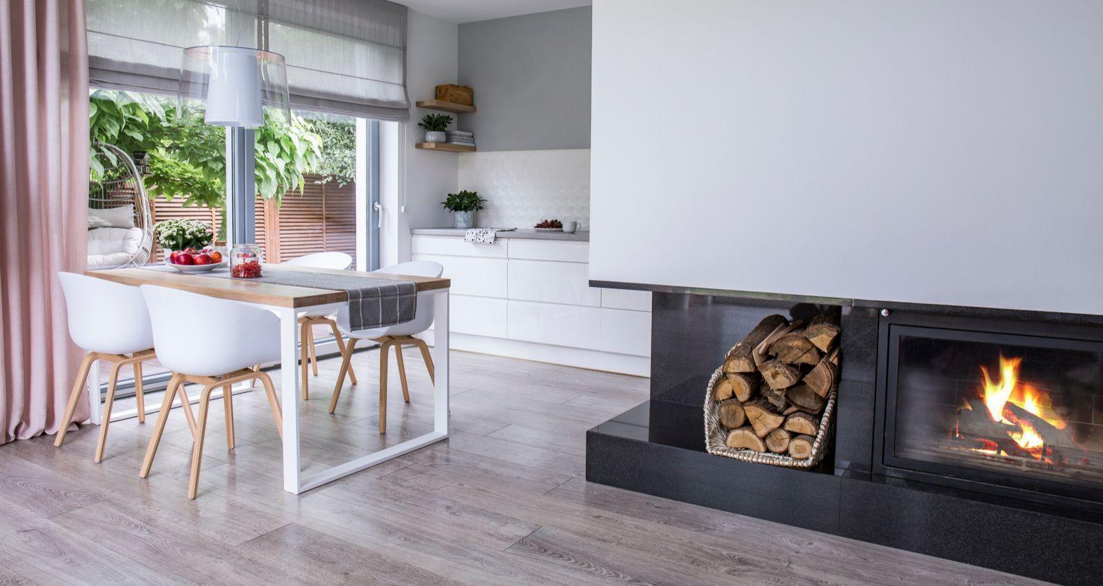 poele en bois moderne